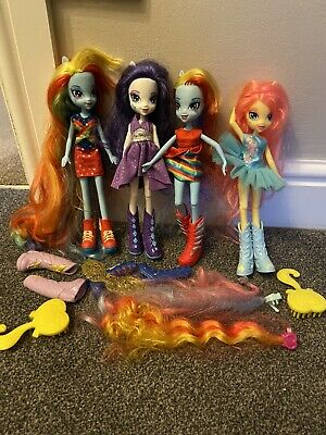 my little pony equestria girls dolls And Accessories Bundle