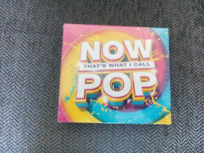 Now Thats What I Call Pop - Various (3Cd 2015) New Sealed