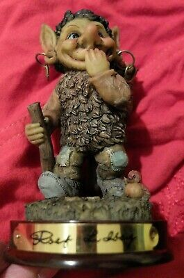 Rolf Lidberg troll figure RBA 9999 - 0534 in box with tag