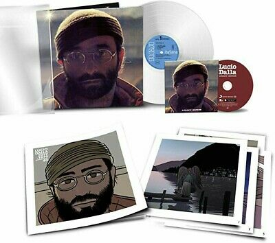 Lucio Dalla (40° Annivers. LP vinile Bianco + CD) Ediz. Limit. Numerata 6/12/19