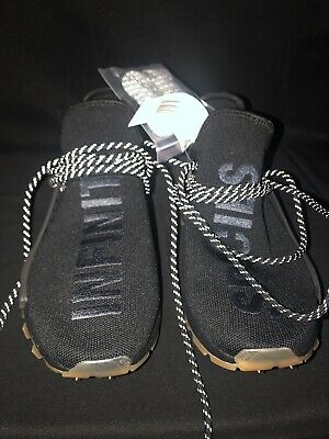 Details about adidas Pharrell Williams Hu NMD Proud EG7836 Triple Black 100%AUTHENTIC DS