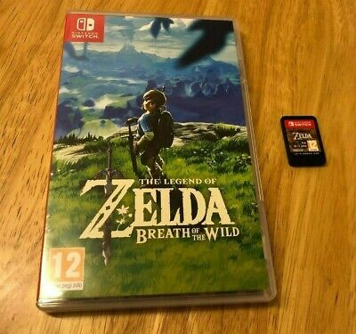 The Legend Of Zelda: Breath Of The Wild - Nintendo Switch Game **FREE P&P**