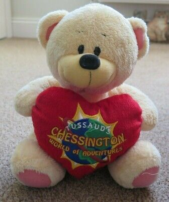 Collectors - Chessington World of Adventures - Teddy Bear - Soft Toy - Cared For