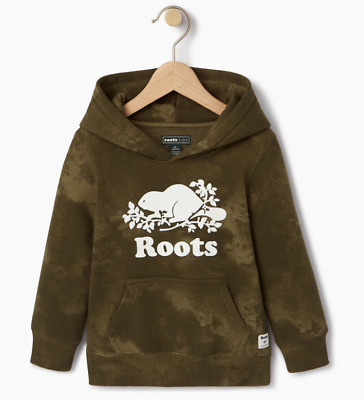 Roots Kids Big Boys Girls Cloud Nine Kanga sweater Hoodie roots Green XL 11Y-12Y