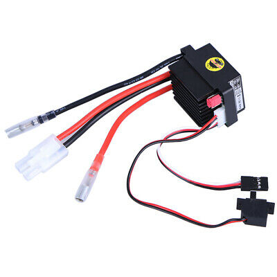 Double Way 320A ESC Brush Motor Speed Controller And Fan For RC Car Boat Model
