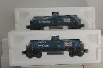 Lionel #26981 GULF DIE-CAST TANK CAR 2 PACK