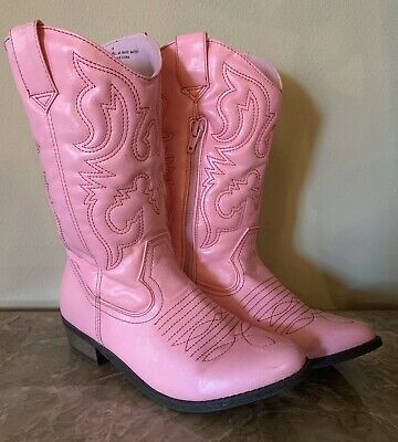 CHEROKEE DELORIA PINK COWBOY~COWGIRL BOOTS~LITTLE GIRLS 5~6~7~8~9~10~11~12~NWT
