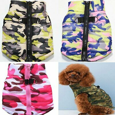 Winter Dog Coats Pet Cat Puppy Chihuahua Clothes Hoodie Warm for Dog Puppy S~XL