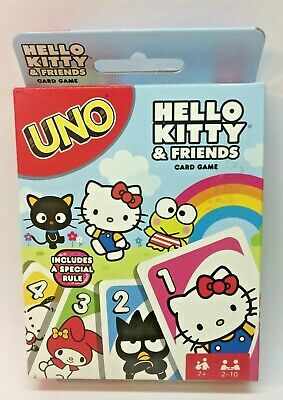 Uno Hello Kitty & Friends edition Mattel card game