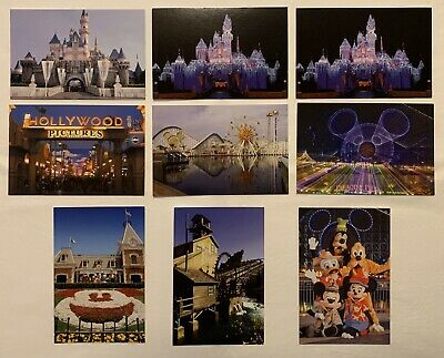 Disneyland Resort | Disneys California Adventure DCA Postcard Collection Lot