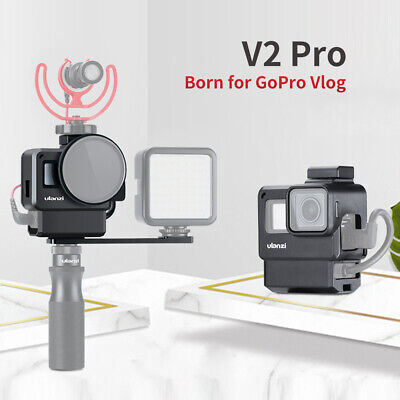 Ulanzi V2 Pro Sports Camera Cage Vlog Case Protective Cage with 52mm Filter Z2M2
