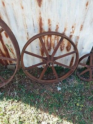 Vintage steel wheels
