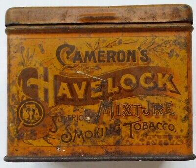 Camerons Havelock Mixture Smoking Tobacco 4Oz Tin In Very Good Used Condition