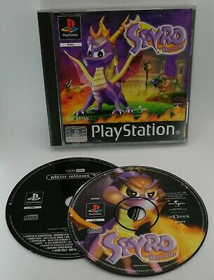 Spyro the Dragon Video Game for Sony PlayStation PS1 PAL TESTED