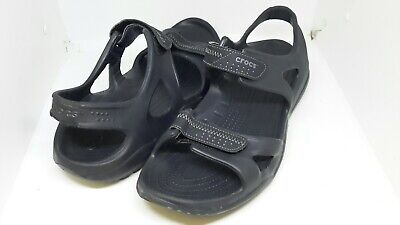 Crocs Mens Swiftwater Sandals Walk shoes Pool beach Size UK 13