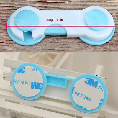 5X Kid Baby Toddler Safety Lock Latches Drawer Cupboard Cabinet Door Fridge Tool