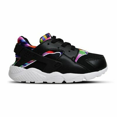 NIKE HUARACHE EXTREME SE PS Black Silver Grey Kid Preschool