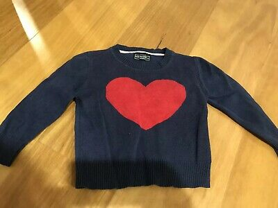 Girl Rock Your Kids Knit Jumper Size3
