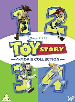 Toy Story 1-4 Complete DVD Box Set 4 Movie Collection new/sealed UK Region 2
