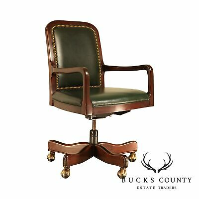 Cool Hancock Moore Chippendale Style Ball Claw Mahogany Green Machost Co Dining Chair Design Ideas Machostcouk