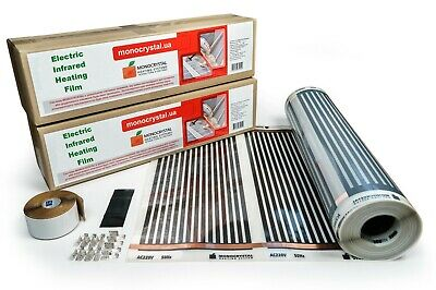 Infrarouge heizfolie PE-PROTECTION contact 240 W//m² Chauffage Carbon Heating Film