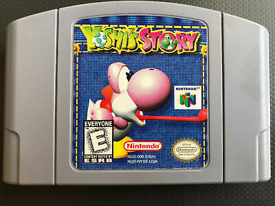 Yoshi's Story - Nintendo N64 Game Authentic Tested Free Shipping