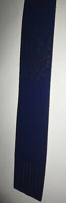 Leather bookmark. English Channel. One Image.