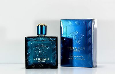 Versace Eros pour Homme Herrenduft After Shave Lotion 100 ml OVP