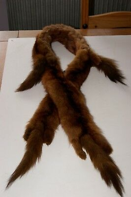 Beautiful Vintage ( The Only Fur To Ware ) Mink Stole Collar