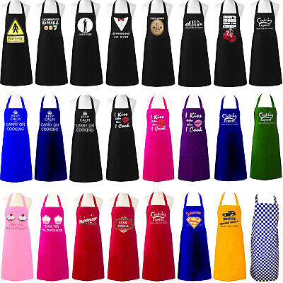 Unisex Adult Aprons Chefs Novelty Butchers Funny Kitchen Bbq Party Cooking Gift