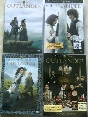 Outlander:The Complete Series Season 1 -4 Free Shipping from the USA