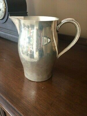 WM ROGERS PAUL REVERE REPRODUCTION SILVERPLATE WATER BEVERAGE PITCHER 64 oz.