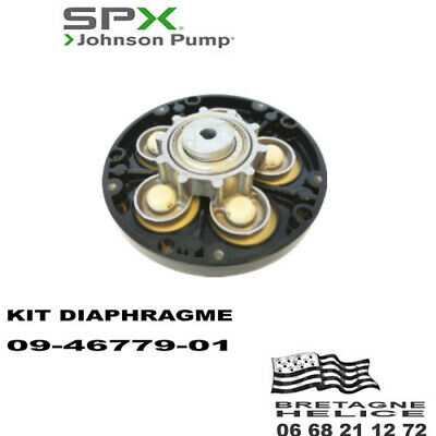 Kit Diaphragme Pour Pompe Johnson Wps 3.4 09-46779-01