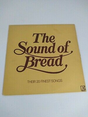"Bread ‎– The Sound Of Bread - Their 20 Finest Songs Vinyl 12"" LP Album 1977"