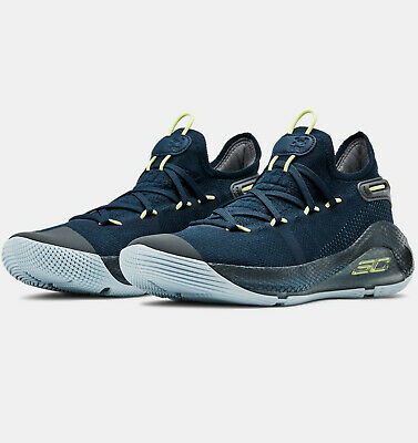 Under Armour Curry 6 International Boulevard Junior Boys Girls Basketball Shoes