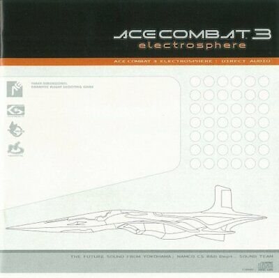 [CD] Ace Combat 3 Electro Sphere - DIRECT AUDIO with AppenDisc