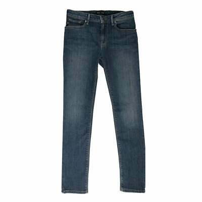 Emporio Armani Juniors Basic Washed Denim Jeans (Blue)