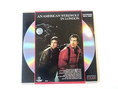 An American Werewolf In London Widescreen Laserdisc LD John Landis very good