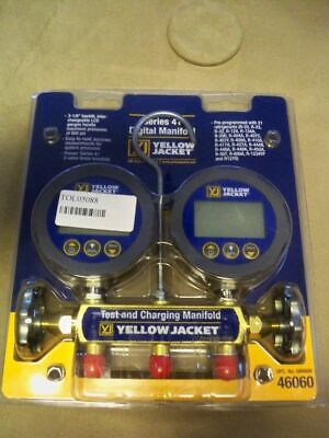 Yellow Jacket 46060 Series 41 Digital Manifold Free shipping.