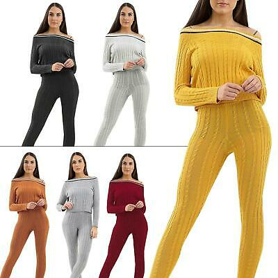 Womens Ladies Loungewear Sports Yoga Fitness Co Ord Tracksuits Sets  Plus Size