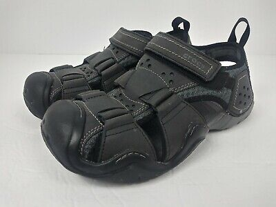 Crocs Swiftwater Leather Fisherman Water Sandals Mens Sz 8