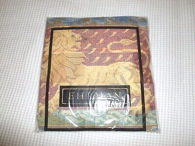 New! complete Ehrman tapestry needlepoint kit Red Lion by Candace Bahouth
