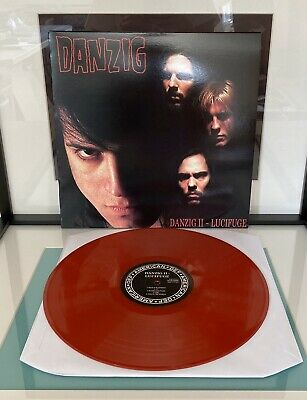 Danzig II two * Lucifuge * New Red Colored Vinyl LP Record