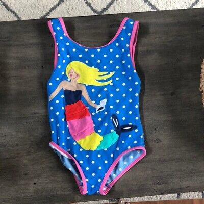 Boden Swimsuit Swimming Costume 5-6 Years