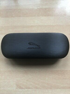 "New Black ""Jaguar"" Glasses Case"