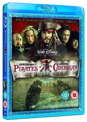 Johnny Depp, Geoffrey Rush-Pirates of the Caribbean: At World's End Blu-ray NEUF