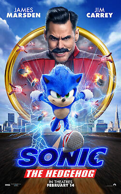 "Sonic the Hedgehog ( 11"" x 17"" ) Movie Collector's Poster Print -(T2)  B2G1F"