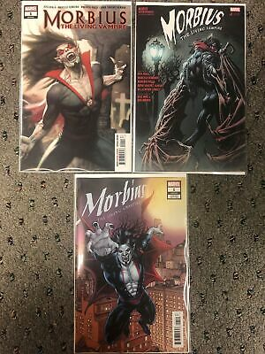 Morbius #1 / 1St Print + Hotz + Ryp Connecting Variant Cover Set 2019 Nm