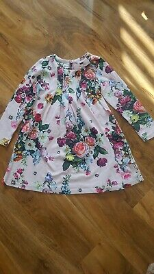 Ted baker Girls  Pink Floral dress  Age 5-6 Years