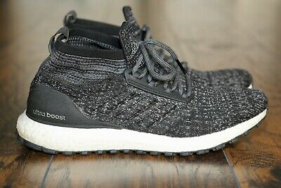 Adidas Ultra Boost ATR All Terrain Mid Oreo Black Shoes Ultraboost S82036 Mens 9